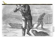 Seal Hunting, 1867 Carry-all Pouch