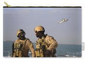 Seals Aboard A Rigid-hull Inflatable Carry-all Pouch by Stocktrek Images