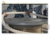 Seaman Runs A Mooring Line Carry-all Pouch