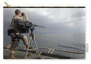 Seaman Scans The Ocean Carry-all Pouch