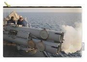 Seamen Fire An Air Slug From A Mk-32 Carry-all Pouch