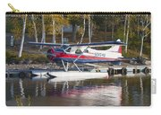 Seaplane On Moosehead Lake In Maine Canvas Photo Poster Print Carry-all Pouch