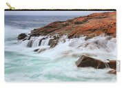 Seas On Schoodic Point Carry-all Pouch