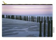 Seascape At Dusk With Pillars In Carry-all Pouch