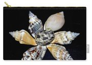 Seashell Floral Carry-all Pouch