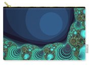 Seashells By The Sea Fractal Carry-all Pouch