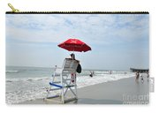 seashore 76 Lifeguard on Avalon Jersey Shore Beach Carry-all Pouch