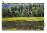 Seasonal Duck Pond Carry-all Pouch