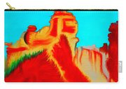 Sedona Hills - Fire At Sunset - Arizona Carry-all Pouch