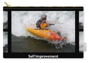 Self Improvement With Caption Carry-all Pouch