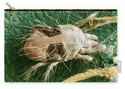 Sem Of Two-spotted Spider Mite Carry-all Pouch