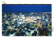 Sendai Train Station By Night Carry-all Pouch