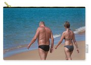 Senior Elderly  Lover Couple Carry-all Pouch