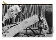 Seoul Korea - Men Sawing Lumber Carry-all Pouch