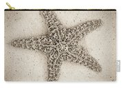 Sepia Starfish Carry-all Pouch