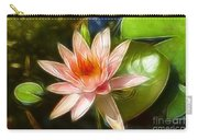 Serene Pink Waterlily  Carry-all Pouch