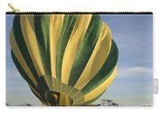 Serengeti Hot Air Baloon Inflating Carry-all Pouch