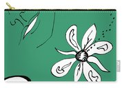 Serenity In Green Carry-all Pouch
