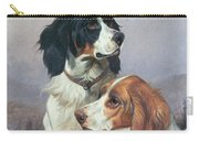 Setters On A Moor Carry-all Pouch by Colin Graeme
