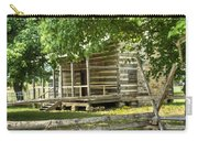 Settlers Cabin And Crosstie Fence 4 Carry-all Pouch