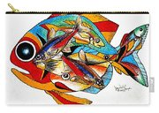 Seven Fish Carry-all Pouch