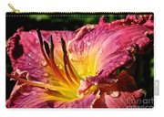 Seven Seals Daylily Carry-all Pouch
