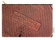 Sewer Cover Carry-all Pouch