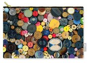 Sewing - Buttons - Bunch Of Buttons Carry-all Pouch