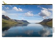 Seydisfjordur Fjord Carry-all Pouch