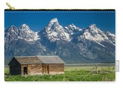 Shack And Grand Tetons Carry-all Pouch
