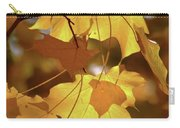 Shadow Dancing Leaves Carry-all Pouch