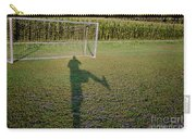 Shadow From A Football Player Carry-all Pouch