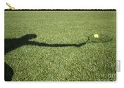 Shadow Playing Tennis Carry-all Pouch