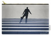 Shadow Walking The Stairs Carry-all Pouch