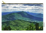 Shadows On The Mountains Carry-all Pouch