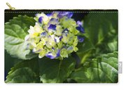 Shadowy Purple And White Emerging Hydrangea Carry-all Pouch