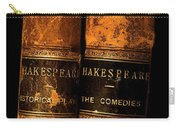 Shakespeare Leather Bound Books Carry-all Pouch