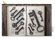 Shakspeare King Lear And Old Keys Carry-all Pouch