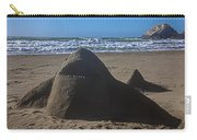 Shark Sand Sculpture Carry-all Pouch
