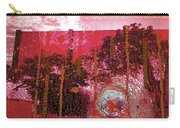 Abstract Shattered Glass Red Carry-all Pouch
