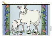 Sheep Artist Sheep Art Carry-all Pouch
