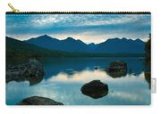 Sheep Clouds Above  A Lake  Carry-all Pouch