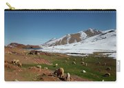 Sheep In The Atlas Mountains 02 Carry-all Pouch