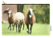 Sheep On The Run Carry-all Pouch