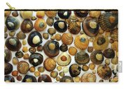 Shell Background Carry-all Pouch by Carlos Caetano