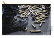 Shell Casings From A .50 Caliber Carry-all Pouch
