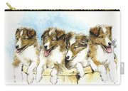 Sheltie Pups Carry-all Pouch
