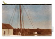 Ship At Dock Carry-all Pouch