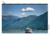 Ship On A Lake Carry-all Pouch