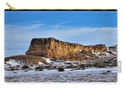 Ship Rock In Kansas Carry-all Pouch